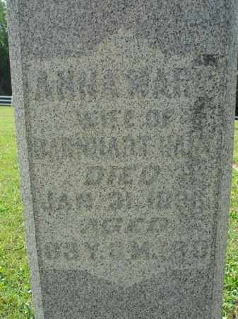 HART, ANNA MARY - Fairfield County, Ohio | ANNA MARY HART - Ohio Gravestone Photos