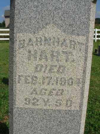 HART, BARNHART - Fairfield County, Ohio | BARNHART HART - Ohio Gravestone Photos