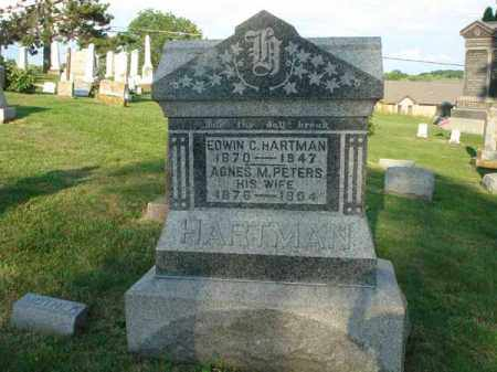 HARTMAN, EDWIN C. - Fairfield County, Ohio | EDWIN C. HARTMAN - Ohio Gravestone Photos