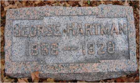 HARTMAN, GEORGE - Fairfield County, Ohio | GEORGE HARTMAN - Ohio Gravestone Photos
