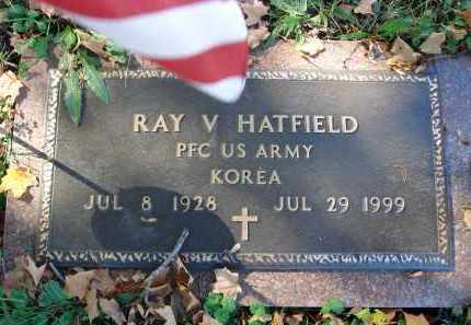 HATFIELD, RAY V. - Fairfield County, Ohio | RAY V. HATFIELD - Ohio Gravestone Photos