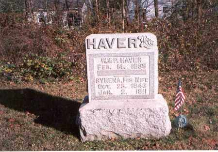 HAVER, WM P. - Fairfield County, Ohio | WM P. HAVER - Ohio Gravestone Photos