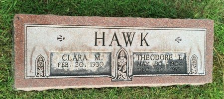 HAWK, CLARA M. - Fairfield County, Ohio | CLARA M. HAWK - Ohio Gravestone Photos
