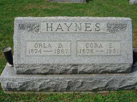 HAYNES, ORLA D. - Fairfield County, Ohio | ORLA D. HAYNES - Ohio Gravestone Photos