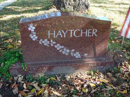HAYTCHER, OLGA M. - Fairfield County, Ohio | OLGA M. HAYTCHER - Ohio Gravestone Photos