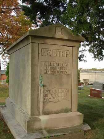 HEISTER, MINNIE - Fairfield County, Ohio | MINNIE HEISTER - Ohio Gravestone Photos