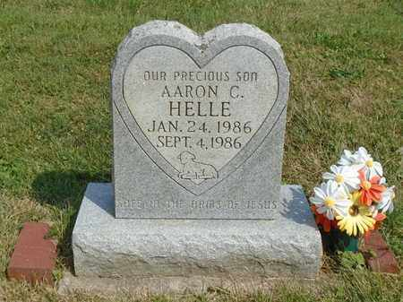 HELLE, AARON C. - Fairfield County, Ohio | AARON C. HELLE - Ohio Gravestone Photos