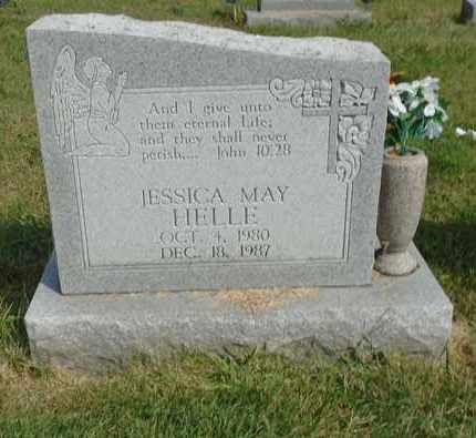 HELLE, JESSICA MAY - Fairfield County, Ohio | JESSICA MAY HELLE - Ohio Gravestone Photos