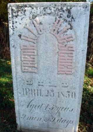 HIBSCHER, FREDERIC - Fairfield County, Ohio | FREDERIC HIBSCHER - Ohio Gravestone Photos
