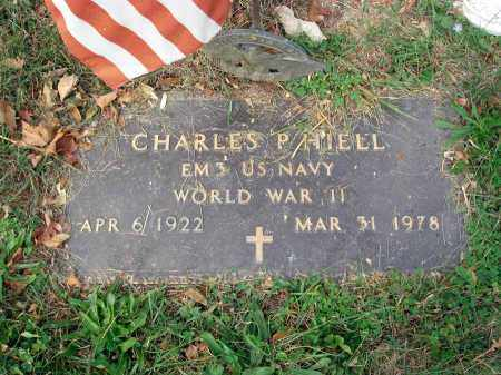 HIELL, CHARLES P. - Fairfield County, Ohio | CHARLES P. HIELL - Ohio Gravestone Photos