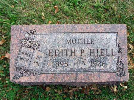 HIELL, EDITH P. - Fairfield County, Ohio | EDITH P. HIELL - Ohio Gravestone Photos