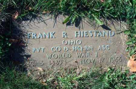 HIESTAND, FRANK R. - Fairfield County, Ohio | FRANK R. HIESTAND - Ohio Gravestone Photos