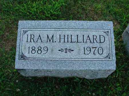 HILLIARD, IRA M. - Fairfield County, Ohio | IRA M. HILLIARD - Ohio Gravestone Photos