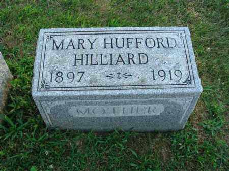 HUFFORD HILLIARD, MARY - Fairfield County, Ohio | MARY HUFFORD HILLIARD - Ohio Gravestone Photos