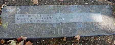 HILZ, JAMES - Fairfield County, Ohio | JAMES HILZ - Ohio Gravestone Photos