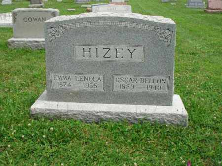 HIZEY, OSCAR DELLON - Fairfield County, Ohio | OSCAR DELLON HIZEY - Ohio Gravestone Photos