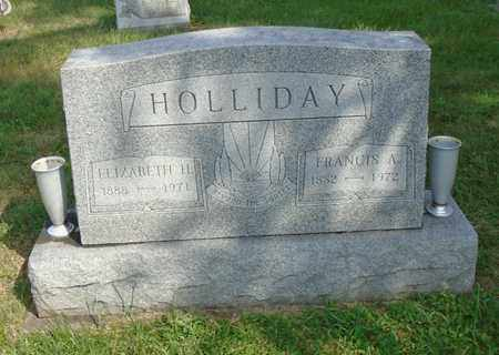 HOLLIDAY, ELIZABETH H. - Fairfield County, Ohio | ELIZABETH H. HOLLIDAY - Ohio Gravestone Photos