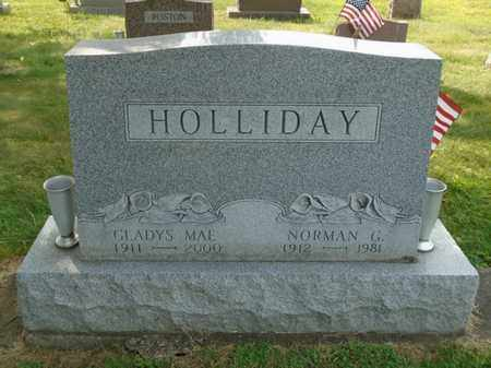 HOLLIDAY, GLADYS MAE - Fairfield County, Ohio | GLADYS MAE HOLLIDAY - Ohio Gravestone Photos