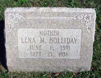 HOLLIDAY, LENA M. - Fairfield County, Ohio | LENA M. HOLLIDAY - Ohio Gravestone Photos