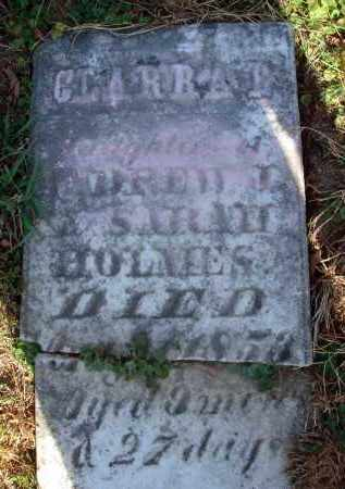 HOLMES, CLARRA B. - Fairfield County, Ohio | CLARRA B. HOLMES - Ohio Gravestone Photos