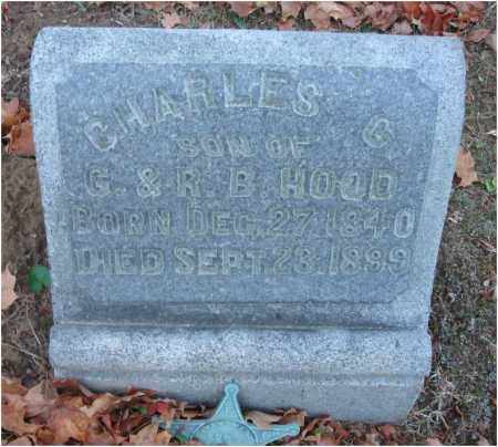HOOD, CHARLES G. - Fairfield County, Ohio | CHARLES G. HOOD - Ohio Gravestone Photos