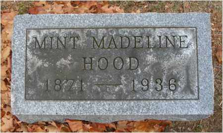 HOOD, MINT MADELINE - Fairfield County, Ohio | MINT MADELINE HOOD - Ohio Gravestone Photos