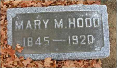 HOOD, MARY M. - Fairfield County, Ohio | MARY M. HOOD - Ohio Gravestone Photos