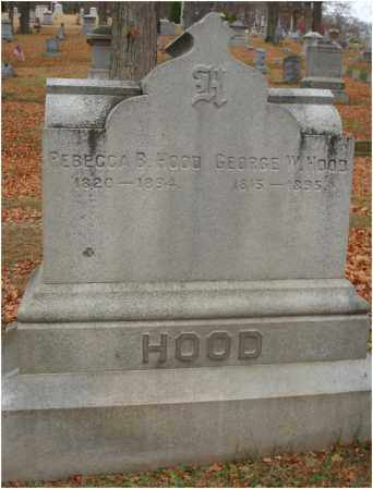HOOD, REBECCA B. - Fairfield County, Ohio | REBECCA B. HOOD - Ohio Gravestone Photos