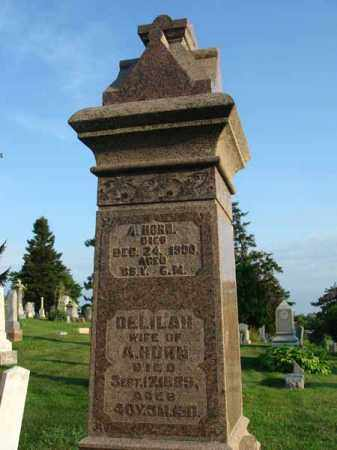 HORN, DELILAH - Fairfield County, Ohio | DELILAH HORN - Ohio Gravestone Photos