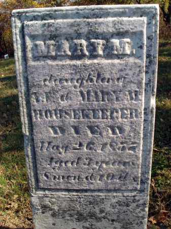 HOUSEKEEPER, MARY M. - Fairfield County, Ohio | MARY M. HOUSEKEEPER - Ohio Gravestone Photos