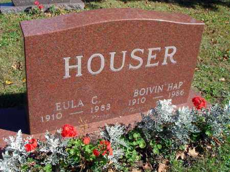 "HOUSER, BOIVIN ""HAP"" - Fairfield County, Ohio 