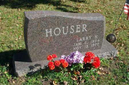 HOUSER, LARRY N. - Fairfield County, Ohio | LARRY N. HOUSER - Ohio Gravestone Photos