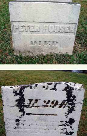 HOUSER, PETER - Fairfield County, Ohio | PETER HOUSER - Ohio Gravestone Photos