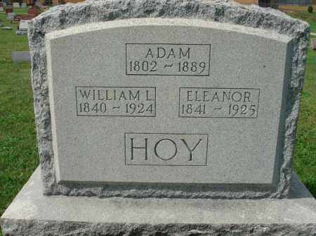 HOY, ADAM - Fairfield County, Ohio | ADAM HOY - Ohio Gravestone Photos