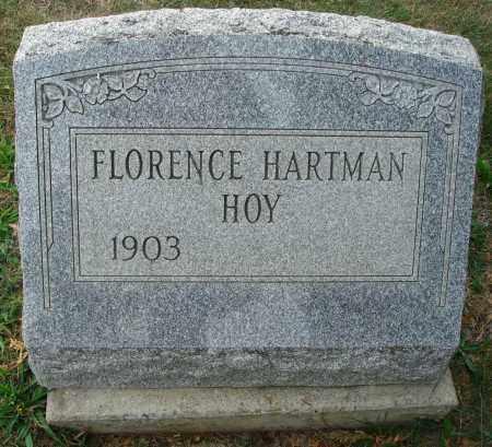 HOY, FLORENCE - Fairfield County, Ohio | FLORENCE HOY - Ohio Gravestone Photos
