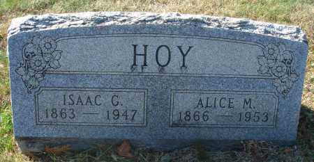 HOY, ALICE MARGARET - Fairfield County, Ohio | ALICE MARGARET HOY - Ohio Gravestone Photos