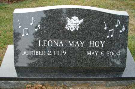 HOY, LEONA MAY - Fairfield County, Ohio | LEONA MAY HOY - Ohio Gravestone Photos