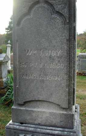 HOY, WILLIAM I. - Fairfield County, Ohio | WILLIAM I. HOY - Ohio Gravestone Photos