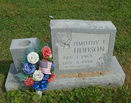 HUDSON, TIMOTHY E. - Fairfield County, Ohio | TIMOTHY E. HUDSON - Ohio Gravestone Photos