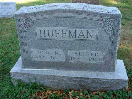 HUFFMAN, ALFRED - Fairfield County, Ohio | ALFRED HUFFMAN - Ohio Gravestone Photos