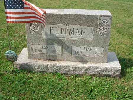 HUFFMAN, LILLIAN E. - Fairfield County, Ohio | LILLIAN E. HUFFMAN - Ohio Gravestone Photos