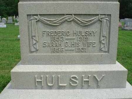 HULSHY, FREDERIC - Fairfield County, Ohio | FREDERIC HULSHY - Ohio Gravestone Photos