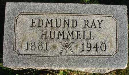 HUMMELL, EDMUND RAY - Fairfield County, Ohio | EDMUND RAY HUMMELL - Ohio Gravestone Photos