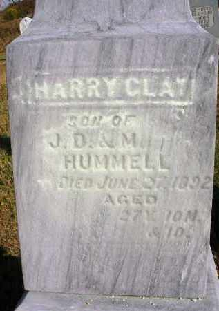 HUMMELL, HARRY CLAY - Fairfield County, Ohio | HARRY CLAY HUMMELL - Ohio Gravestone Photos