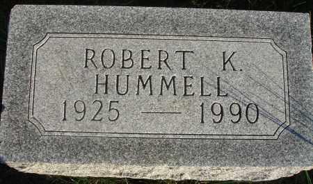 HUMMELL, ROBERT K. - Fairfield County, Ohio | ROBERT K. HUMMELL - Ohio Gravestone Photos