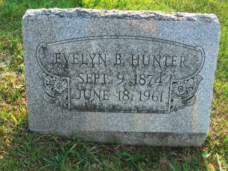 HUNTER, EVELYN B. - Fairfield County, Ohio | EVELYN B. HUNTER - Ohio Gravestone Photos