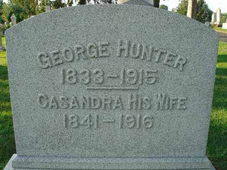 HUNTER, CASANDRA - Fairfield County, Ohio | CASANDRA HUNTER - Ohio Gravestone Photos
