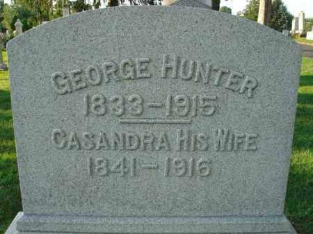 HUNTER, GEORGE - Fairfield County, Ohio | GEORGE HUNTER - Ohio Gravestone Photos