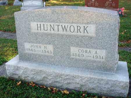 HUNTWORK, JOHN H. - Fairfield County, Ohio | JOHN H. HUNTWORK - Ohio Gravestone Photos
