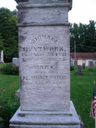 HUNTWORK, MICHAEL - Fairfield County, Ohio | MICHAEL HUNTWORK - Ohio Gravestone Photos
